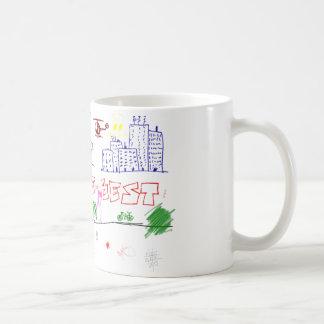 私はベスト3です コーヒーマグカップ