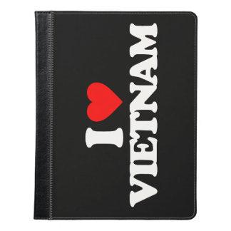 私はベトナムを愛します iPadケース