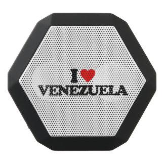 私はベネズエラを愛します ブラックBluetoothスピーカー