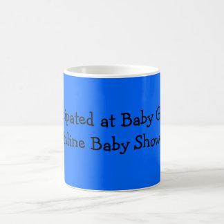 私はベビーのジョージのオンラインベビーシャワーで加わりました コーヒーマグカップ