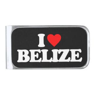 私はベリセを愛します シルバー マネークリップ