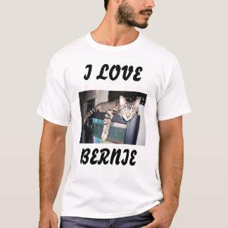私はベルニーを愛します Tシャツ