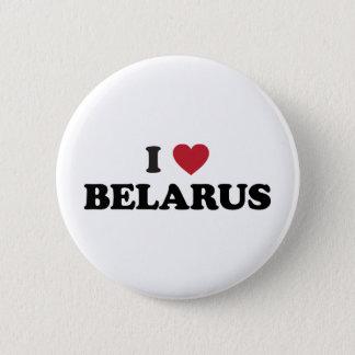 私はベルラーシを愛します 5.7CM 丸型バッジ