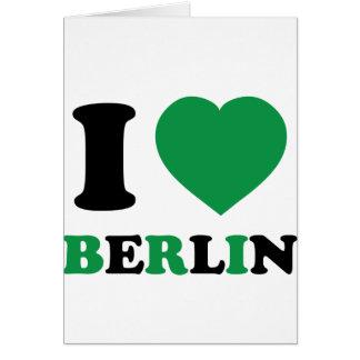 私はベルリンを愛します カード