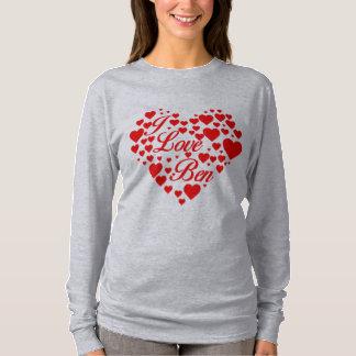 私はベンカーソンを愛します Tシャツ