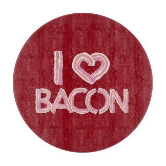 私はベーコンを愛します カッティングボード