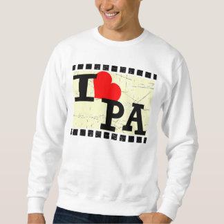 私はペンシルバニアを愛します スウェットシャツ
