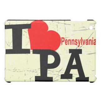 私はペンシルバニアを愛します iPad MINIケース