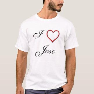 私はホセを愛します Tシャツ