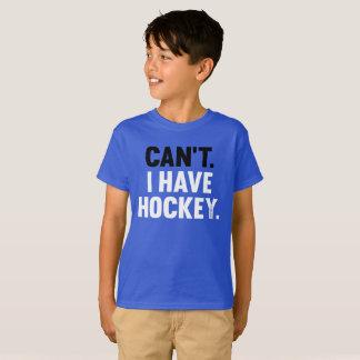 私はホッケーの素晴らしくおもしろいな弁解の青年を有してはいけません Tシャツ