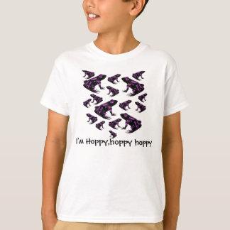 私はホップの豊富で、ホップの豊富で、ホップの豊富な子供のワイシャツです Tシャツ