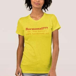 私はホルモン性示します Tシャツ