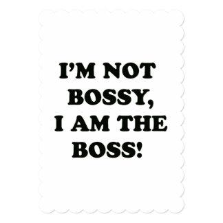 私はボスです カード