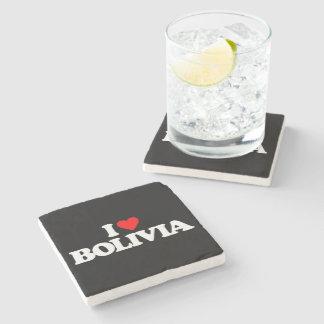 私はボリビアを愛します ストーンコースター