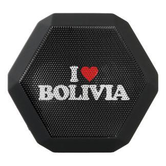 私はボリビアを愛します ブラックBluetoothスピーカー