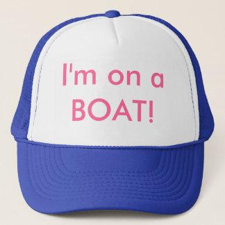 私はボートにあります! キャップ