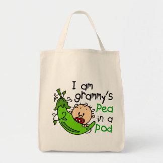 私はポッドのGrammyのエンドウ豆です トートバッグ