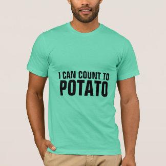 私はポテトに数えてもいいです Tシャツ