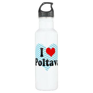 私はポルタバ、ウクライナを愛します ウォーターボトル