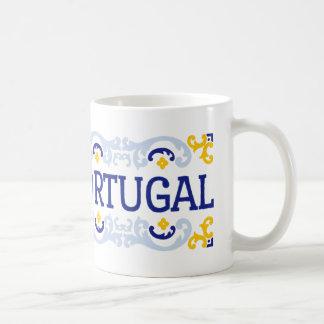 私はポルトガルを愛します コーヒーマグカップ