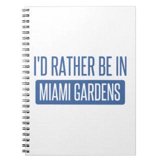 私はマイアミの庭にむしろいます ノートブック