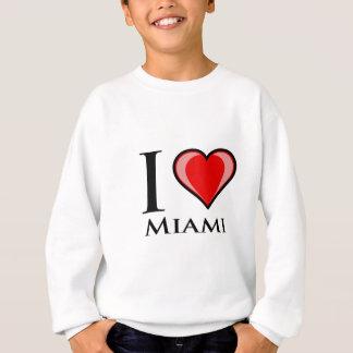 私はマイアミを愛します スウェットシャツ