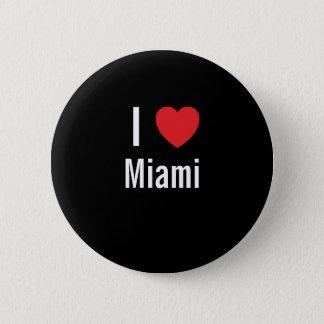 私はマイアミを愛します 缶バッジ