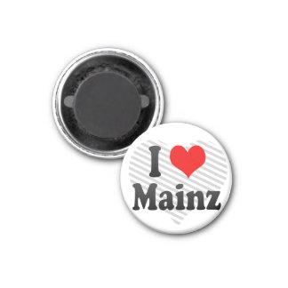 私はマインツ、ドイツを愛します マグネット