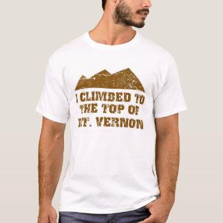 私はマウントバーノンに上りました Tシャツ