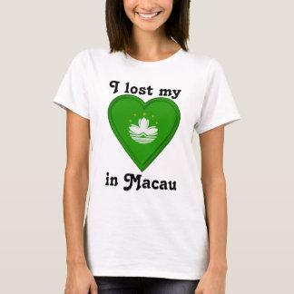私はマカウの私のハートを失った Tシャツ