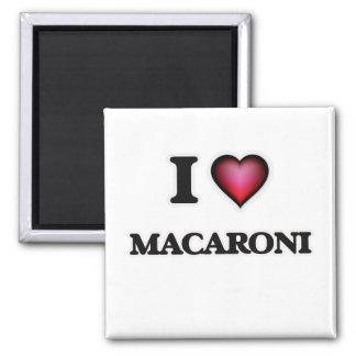 私はマカロニを愛します マグネット