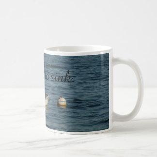 私はマグを沈めることを断ります コーヒーマグカップ
