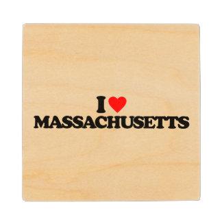 私はマサチューセッツを愛します ウッドコースター