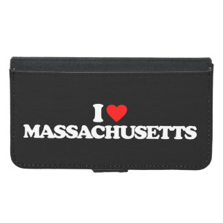 私はマサチューセッツを愛します GALAXY S5 ウォレットケース