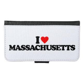 私はマサチューセッツを愛します GALAXY S6 ウォレットケース