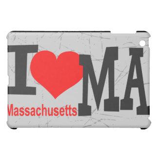 私はマサチューセッツを愛します iPad MINIカバー