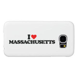 私はマサチューセッツを愛します SAMSUNG GALAXY S6 ケース