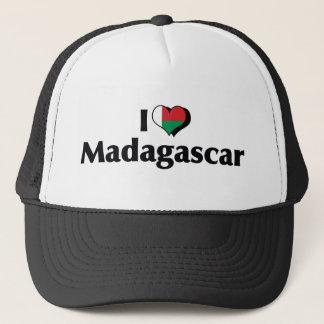 私はマダガスカルの旗を愛します キャップ