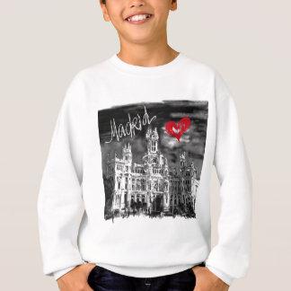 私はマドリードを愛します スウェットシャツ
