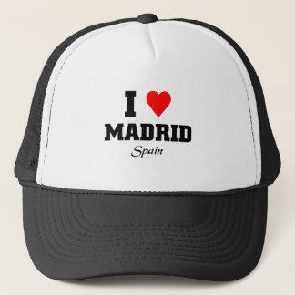 私はマドリード、スペインを愛します キャップ
