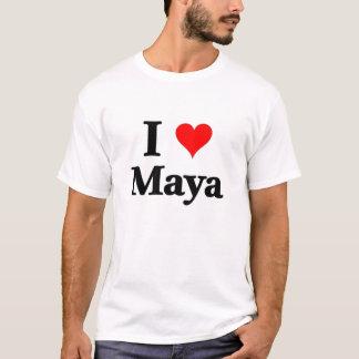 私はマヤを愛します Tシャツ