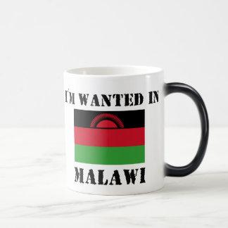 私はマラウィで望まれます マジックマグカップ
