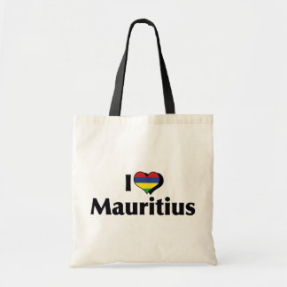 私はマリシャスの旗を愛します トートバッグ
