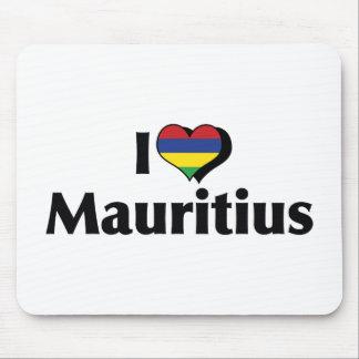 私はマリシャスの旗を愛します マウスパッド
