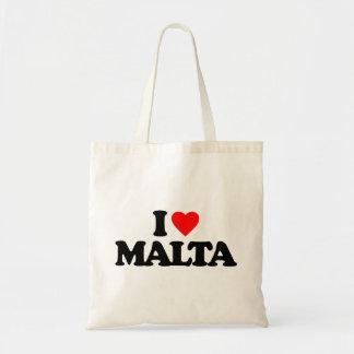 私はマルタを愛します トートバッグ