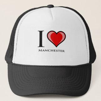 私はマンチェスターを愛します キャップ
