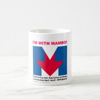 """""""私はマンボ""""のマグとあります コーヒーマグカップ"""