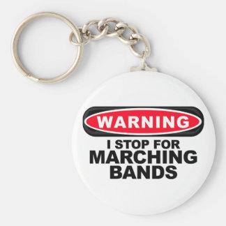 私はマーチングバンドのためにストップ キーホルダー