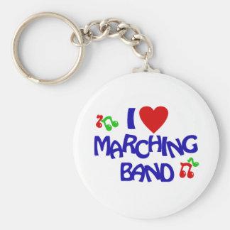 私はマーチングバンドを愛します キーホルダー