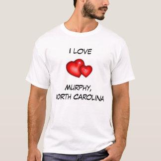 私はマーフィー、ノースカロライナを愛します Tシャツ